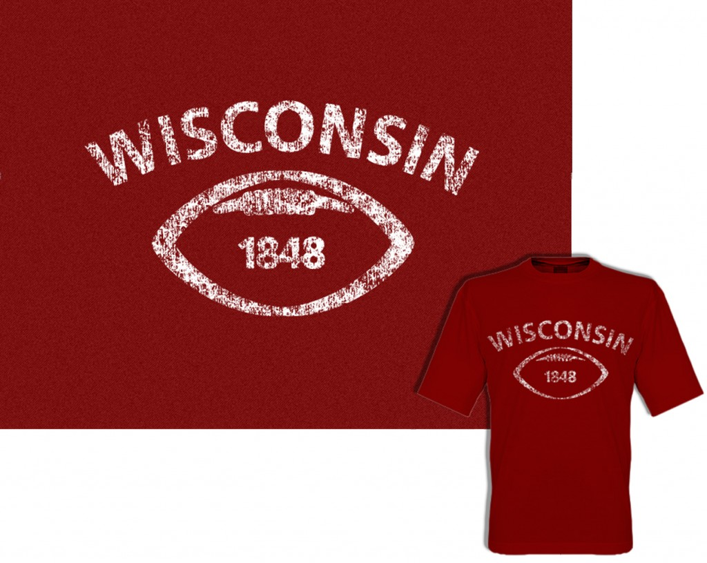 Wisconsin Badger Tshirt