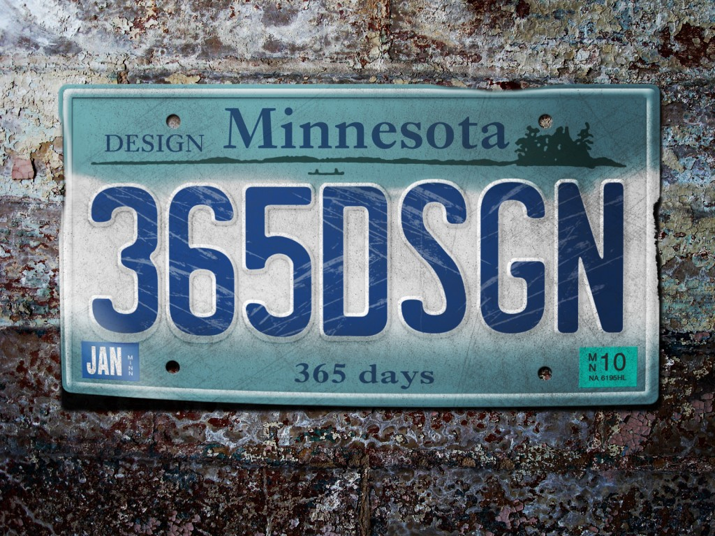 365 Design Plate