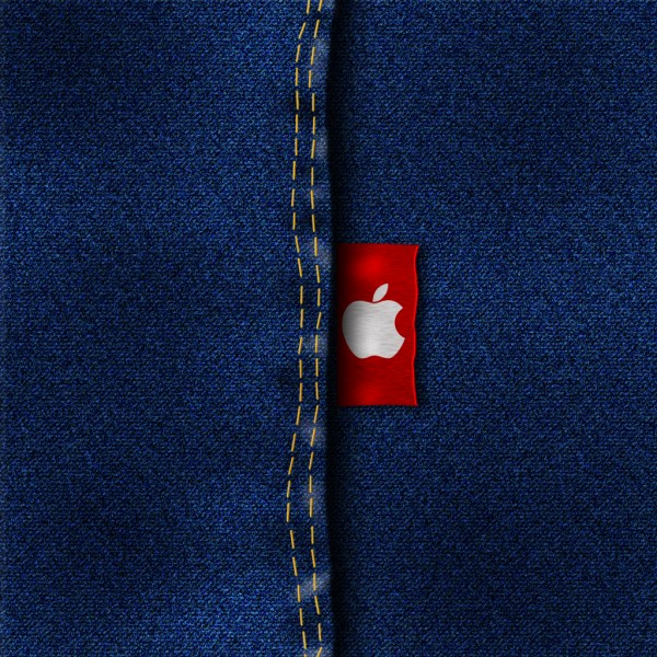 Apple Jeans iPad Wallpaper