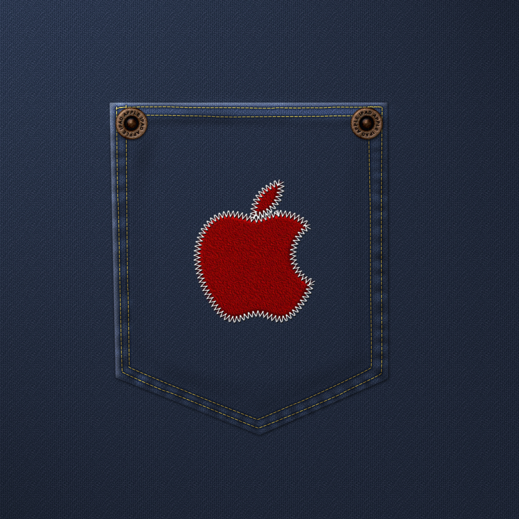Apple Bottom Jeans – iPad Wallpaper (day 121) | 365 Days of Design