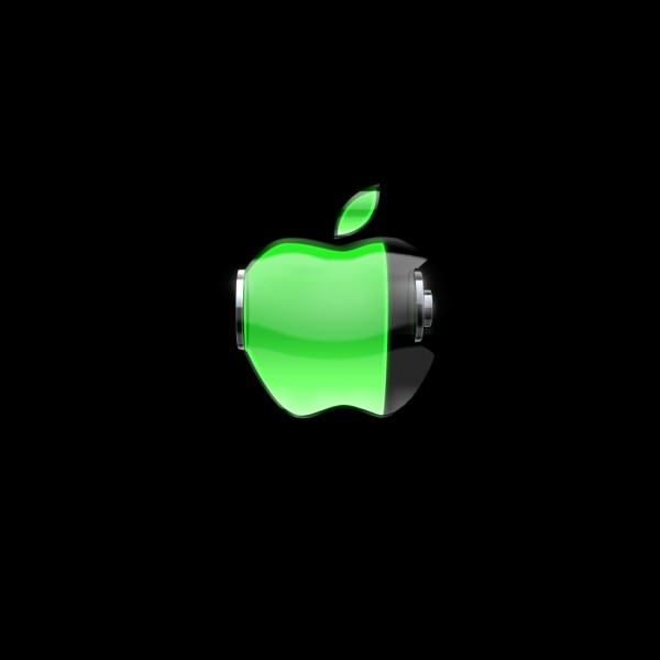 Charging Apple - iPad Wallpaper