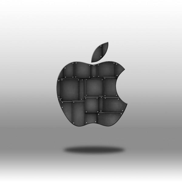 Metal Tiles - iPad Wallpaper