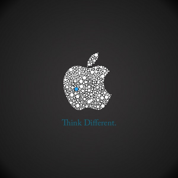 Apple Dots - iPad Wallpaper