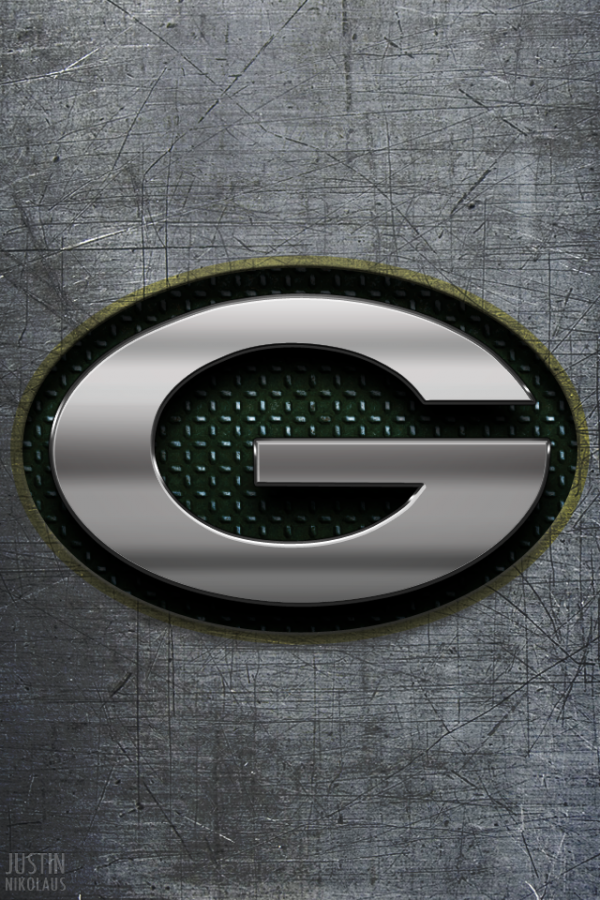 Greenbay Packers Logo iPhone4 Wallpaper