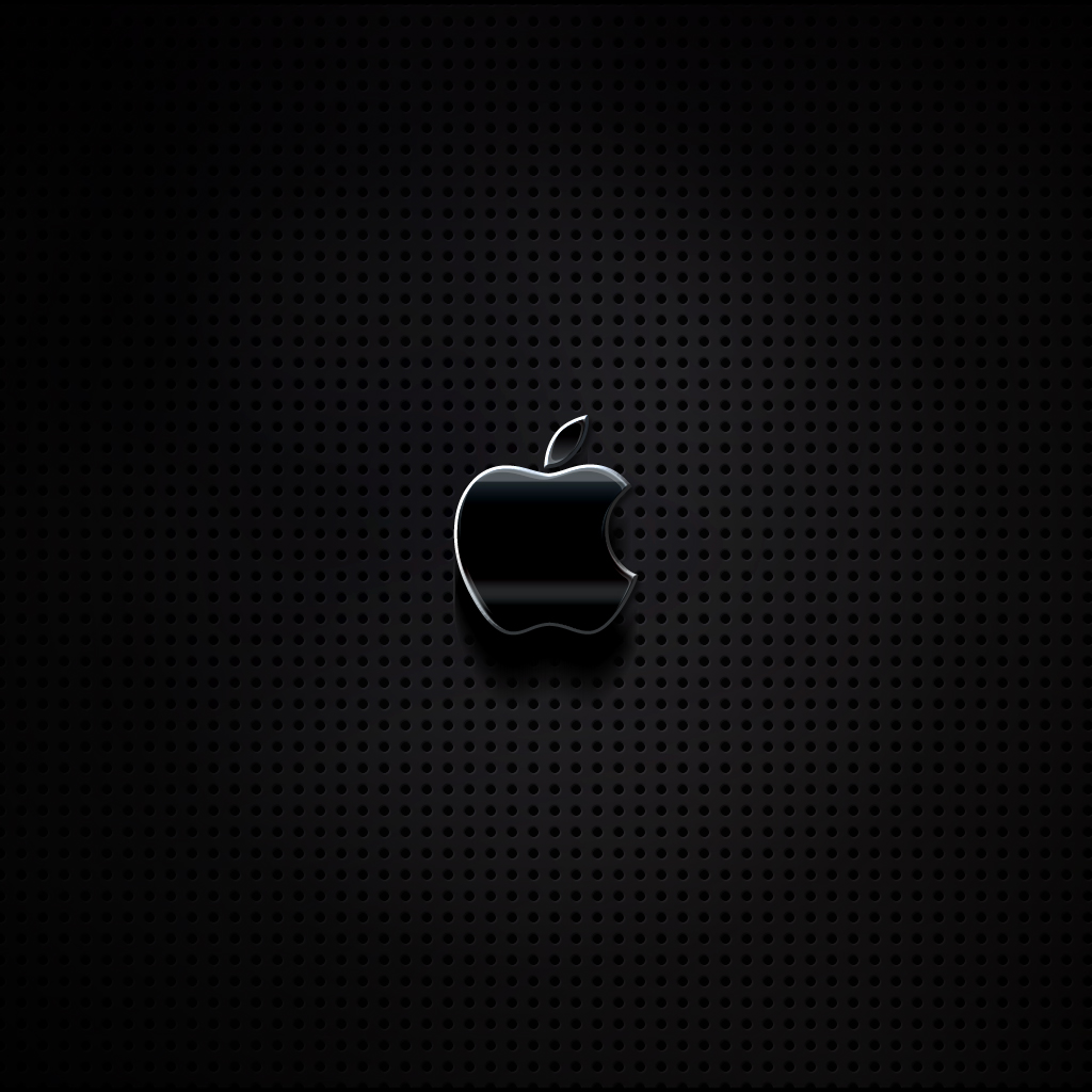 apple on metal grill – ipad wallpaper (day 145) | 365 days of design
